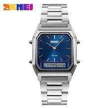SKMEI 1220 Мужчины Цифровые Спортивные Наручные Часы Мода Кварцевые Цифровые Dual Time Часы Хронограф Подсветка Водонепроницаемость Смотреть