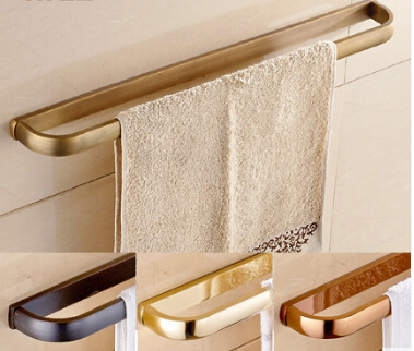 Fashion total brass material gold finished bathroom single towel bar,towel rail,towel rack bathroom accessories цена и фото