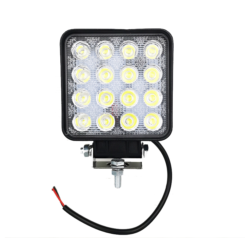 48w Bulb 4x4 Led Work Light Flood Far Light Led Work Lamp ATV SUV Lamps Led Lights For Work Offroad Car Driving Day Light-in Car Light Assembly from Automobiles & Motorcycles