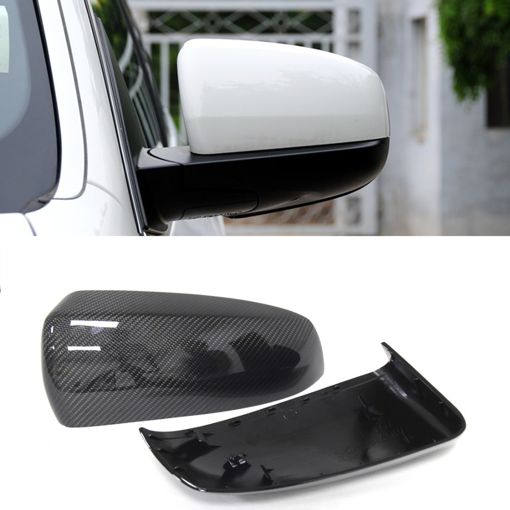 For BMW X5 mirror X6 E70 E71 Carbon Fiber Mirror Cover 2007 - 2013 E71 X6 Carbon Mirror Cover