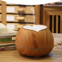 Aroma Essential Oil Diffuser Ultrasonic Air Humidifier Grain 7 Color Changing LED Lights For Office Home