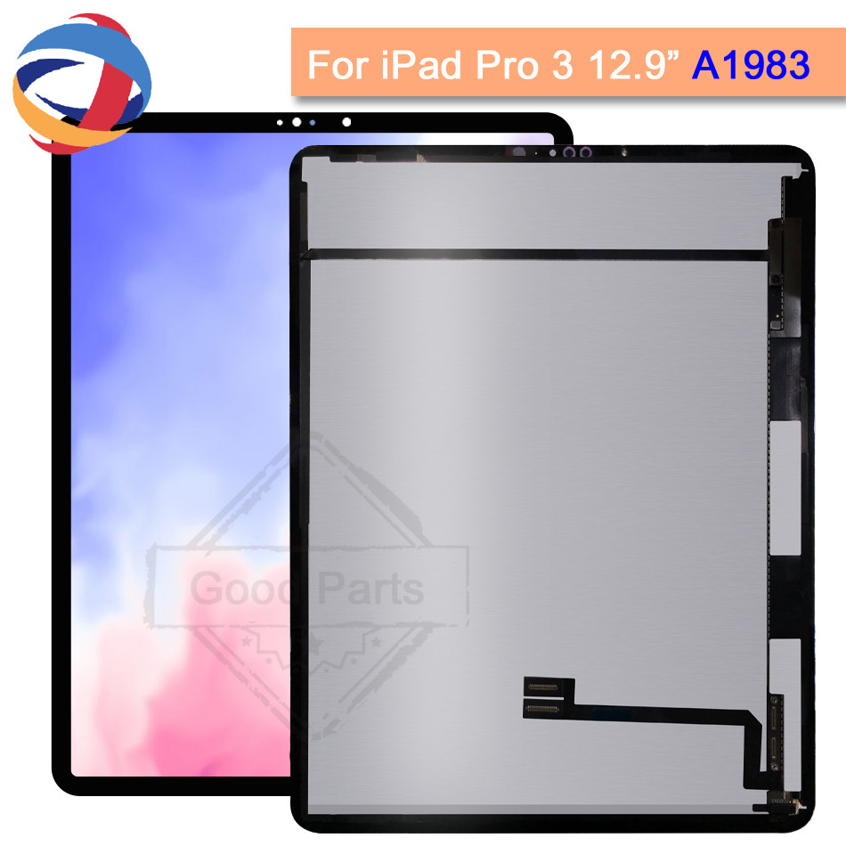 Tested Tablet LCD For iPad Pro 3 12.9 3rd Gen 2018 A1876 A2014 A1895 A1983 Display Touch Screen Panel Assembly Replacement