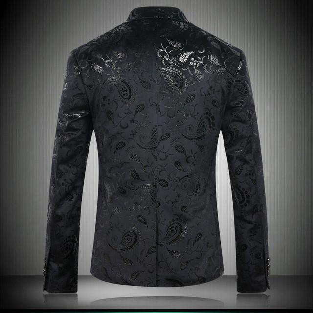 Men's suit jacket 2018 high-end brand fashion business casual slim suit jacket/Men euramerican style design wedding dress jacket