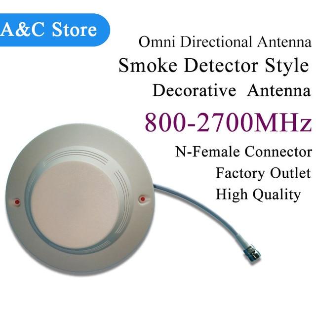 800-2700 Mhz Antena de montaje en techo 5dBI Omni antena direccional antena decorativa Para GSM, CDMA, WCDMA, 3G, DCS 4G-LTE