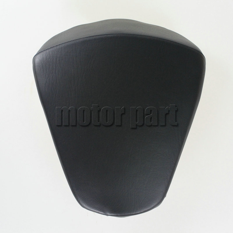 For KTM 390 DUKE Motorcycle Leather Pillon Passenger Rear Seat Black Color