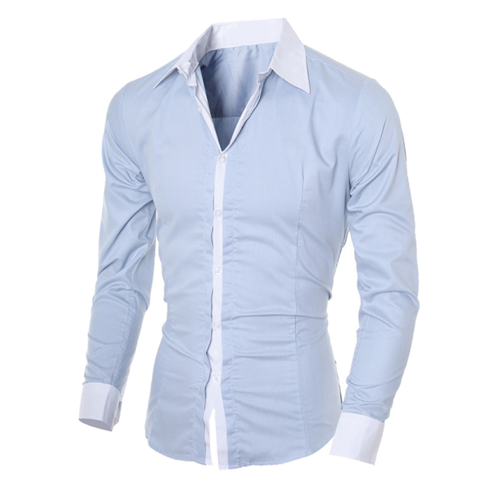 Online Buy Wholesale Mens Contrast Cuff Dress Shirts From