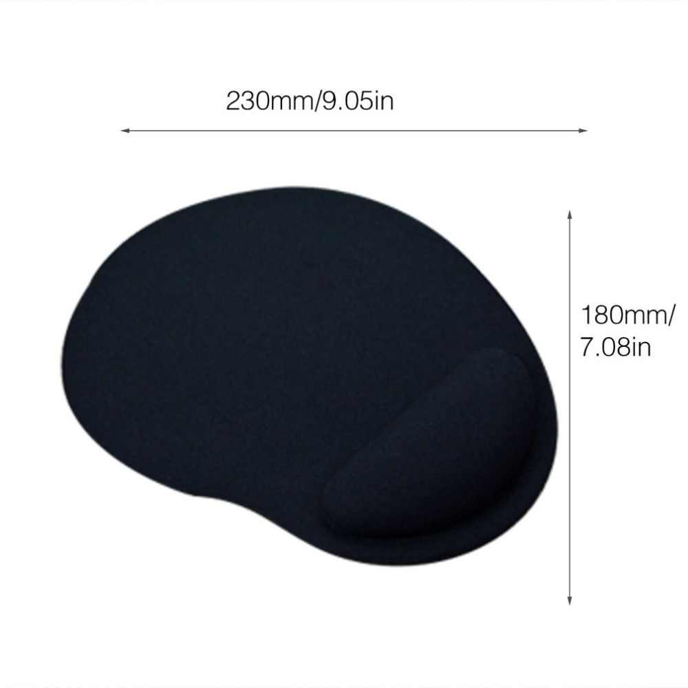 Ergonomic Mouse Pad with Wrist Support Rest Soft EVA Mouse Mat for Laptop Desktop Anti-Slip Mice Mat