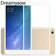 Купить с кэшбэком Dreamysow HD Full Cover Tempered Glass For Xiaomi Mi 5 6 8 5X 5C A1 Note3 MIX2 MAX 2 3 5S plus Screen Protector 9H Hardness