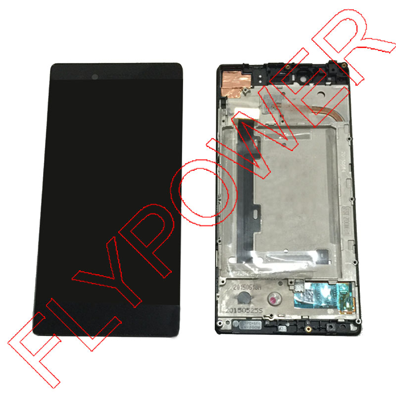 For Lenovo VIBE Shot MAX Z90 Z90-3 Z90-7 Display LCD Display with Touch Screen Digitizer with Frame Assembly; 100% Warranty аксессуар чехол lenovo z90 vibe shot z90a40 zibelino soft matte zsm len vib shot