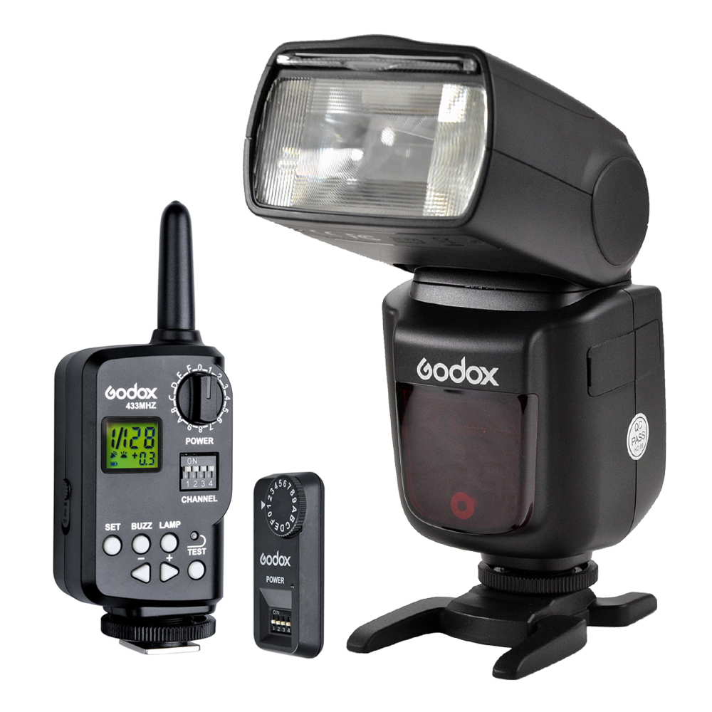 Godox V850 Flash Light Speedlite Universal Model for Canon Nikon Pentax+Godox FT-16S Wireless Trigger Transmitter & Receiver aputure 16 channel flash speedlite