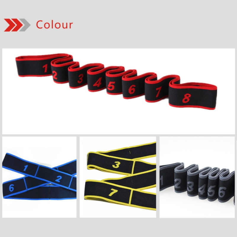 Resistance Band Gymnastic Latin Training Bands Pilates Yoga Stretch Resistance Bands Fitness Elastic Band dance training workout gymnastics adult latin training bands pilates yoga stretch resistance bands elastic workout fitness equipment training expander