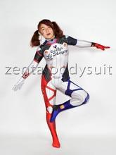 3D Print D. Va Harley Quinn Kostuums Zentai Bodysuit DVA Harley Halloween Cosplay Kostuum Catsuit