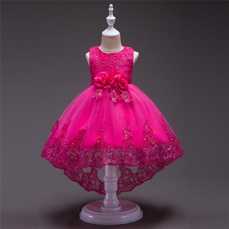 цветок платье с длинным; в yiiya; платье девушки цветка ; девушка платье ;