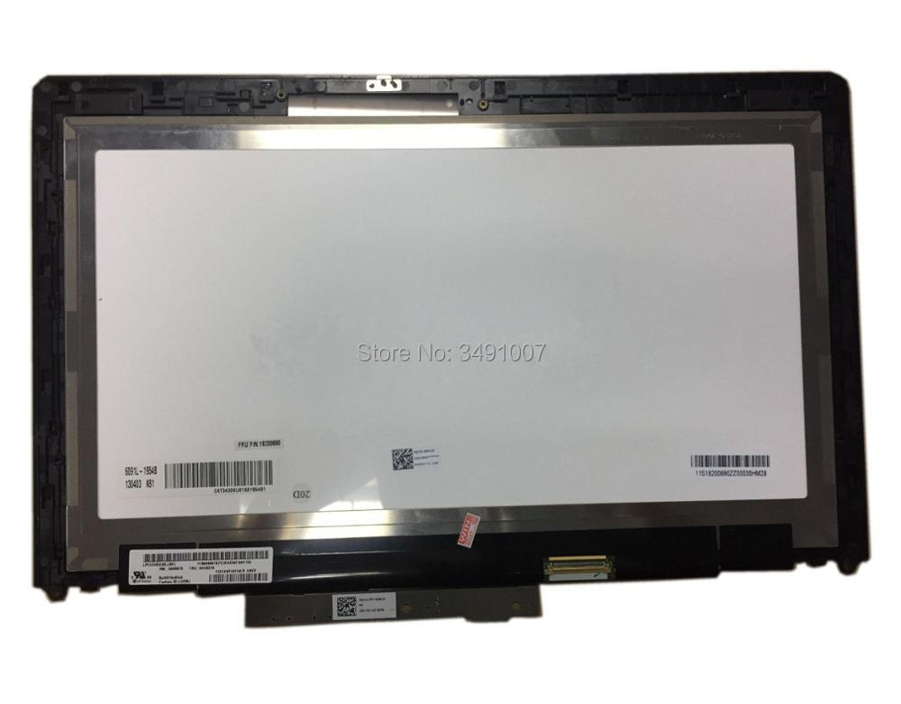 Touch LCD Screen Digitizer Assembly LP133WD2 SLB1 For Lenovo IdeaPad Yoga 13 1st 11 6lcd screen touch digitizer assembly for lenovo ideapad yoga 2 11 1366x768