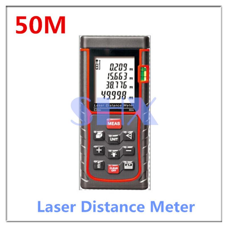 handheld laser distance meter digital laser range finder laser tape measure 40m area volume. Black Bedroom Furniture Sets. Home Design Ideas