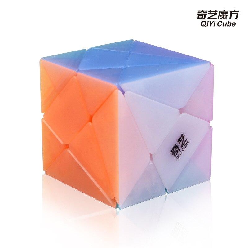 Qiyi Geléia Eixo Cubo Cubo Mágico Brinquedos