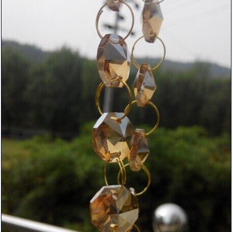 20 m lote guirlanda de cristal pérola