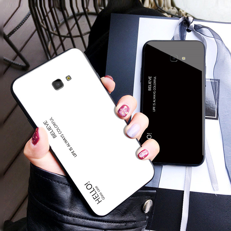 J4 Plus Case Tempered Glass TPU Cases For Samsung Galaxy J4 Plus 2018 J4Plus J415F J415 SM-J415F J4+ Phone Case coque