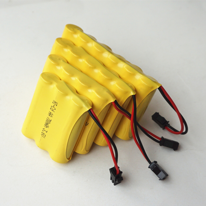 Free DHL for 7.2V 700MAH AA*6 Ni-CD Rechargeable chargeable Batteries for Toys Power source