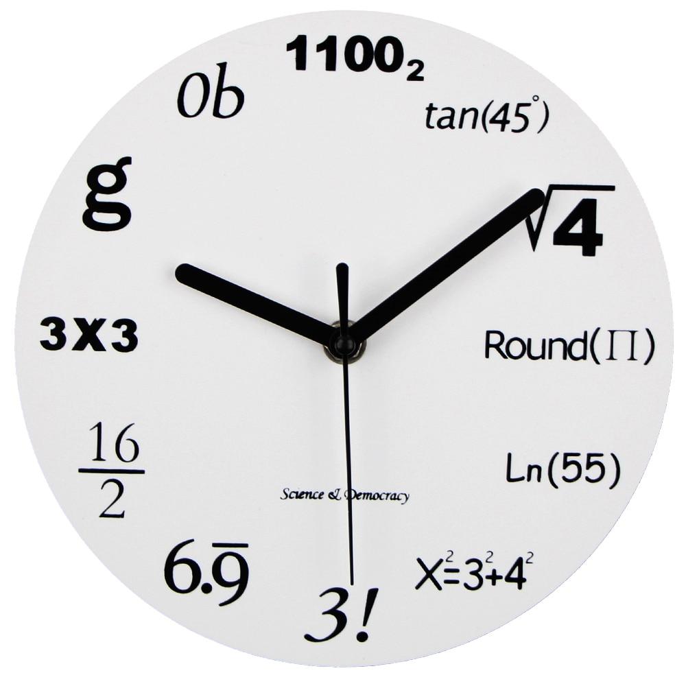 worksheet Clock Math online buy wholesale math clock from china wholesalers 2017 fashion acrylic wall modern design novelty maths equation horloge art watch relogio