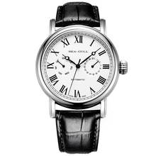 лучшая цена Genuine Seagull watch men  819.11.5126 Automatic Mechanical Men's Watch Self Winding date and week display