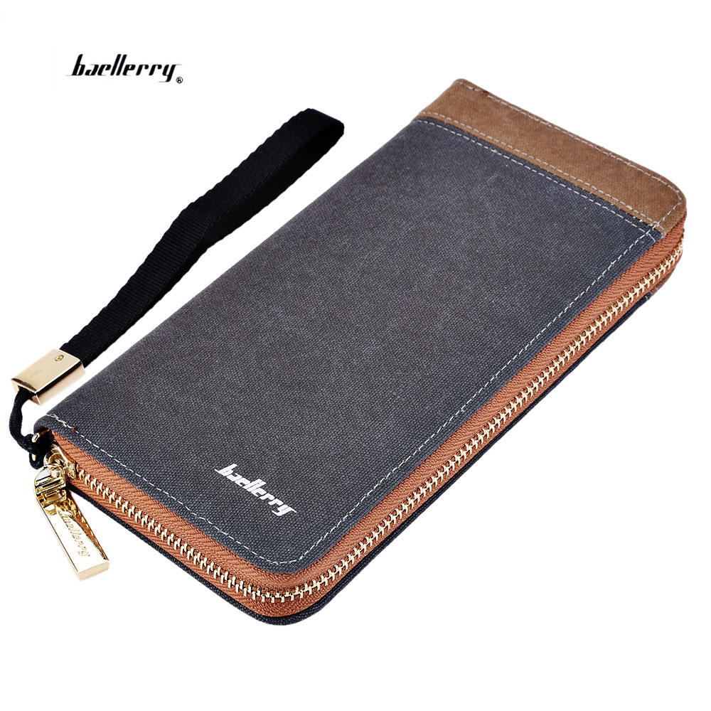 Baellerry Men Patchwork Bag Zipper Large Capacity Long Male Clutch Wallet Anti-theft Coin Bag Purse Phone ID Credit Card Holder new men genuine wallet fashion casual pu credit id card holder purse wallet long business male clutch hot selling 2016