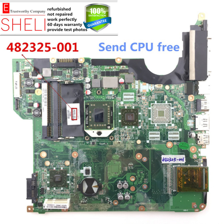 482325-001 for HP DV5 DV5-1000 Laptop Motherboard,for AMD HD graphic .excellent condition SHELI store 60days warranty.