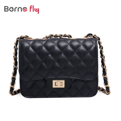 Fashion brand designer Patent Leather women Bags solid ladies Handbags Quilted Chains Wine Purse Wallet shoulder Messenger Bags
