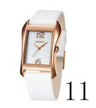 2015 nuevos hombres de costosos relojes de cuarzo, moda ocio de los hombres de negocios, correa de cuero reloj deportivo de la marca, el regalo de Un hombre