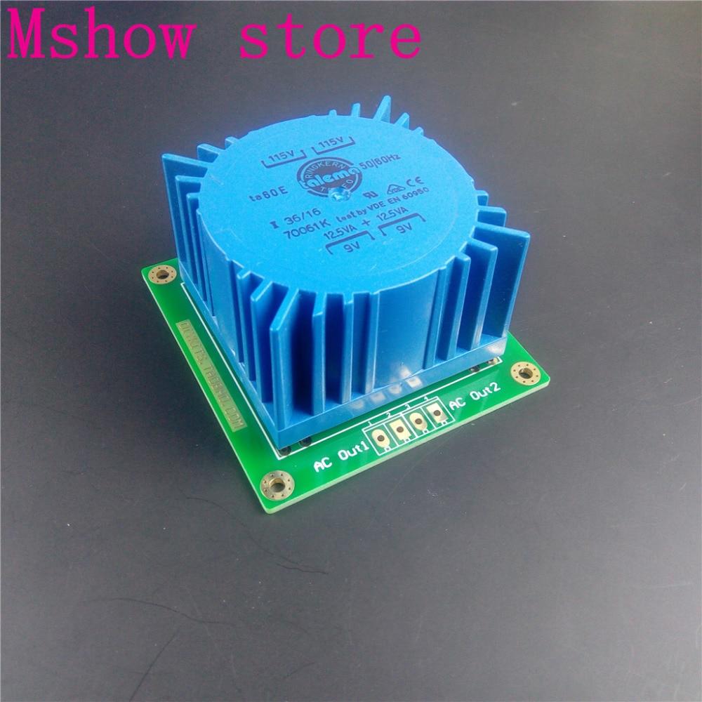 Mshow 25VA TALEMA Sealed Transformer with mounting PCB install input 115V*2 output option 7V 9V 12V for audio hifi amp DAC велосипед orbea grow 2 7v 2013