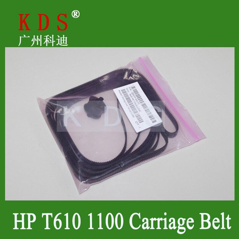 DesignJet T610 T1100 Carriage Belt Q6659-60175 44 inch Black Plotter Parts