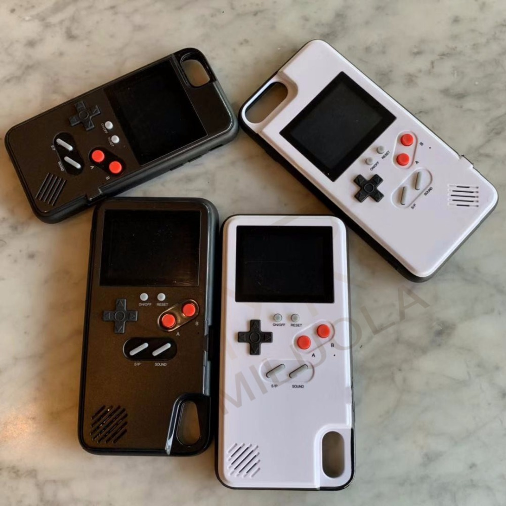 FULL COLOR DISPLAY GAMEBOY PHONE CASES (9)