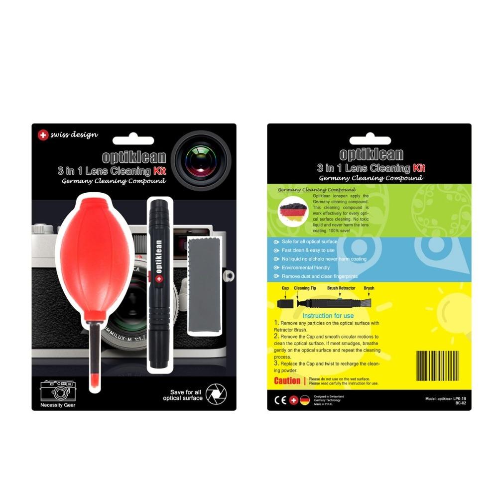 100% Genuine LENSPEN 3 in 1 Camera Lens Pen Camera Lens Cleaning Kit Lens Brushes for Camera Lenses & Filters Cleaning Pen
