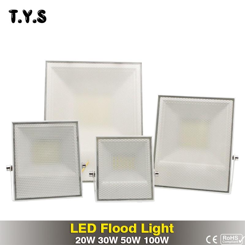 Led Flutlicht Scheinwerfer Wasserdichte Flutlicht 220 v 20 watt 30 watt 50 watt 100 W Außen Beleuchtung Led Exterieur projektor Refletor Licht