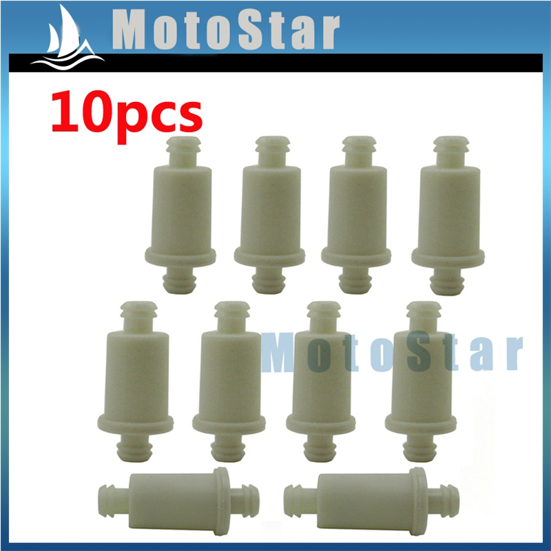 10X Gas Fuel Filter For Honda Motorcycle Dirt Pit Bike ATV Scooter 50-200CC PW80