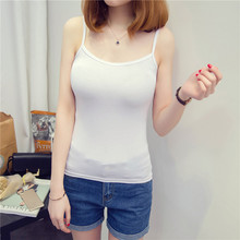 Summer new modal small vest female Slim was thin short section primer shirt wild color within the take sling shirt thin T-shirt