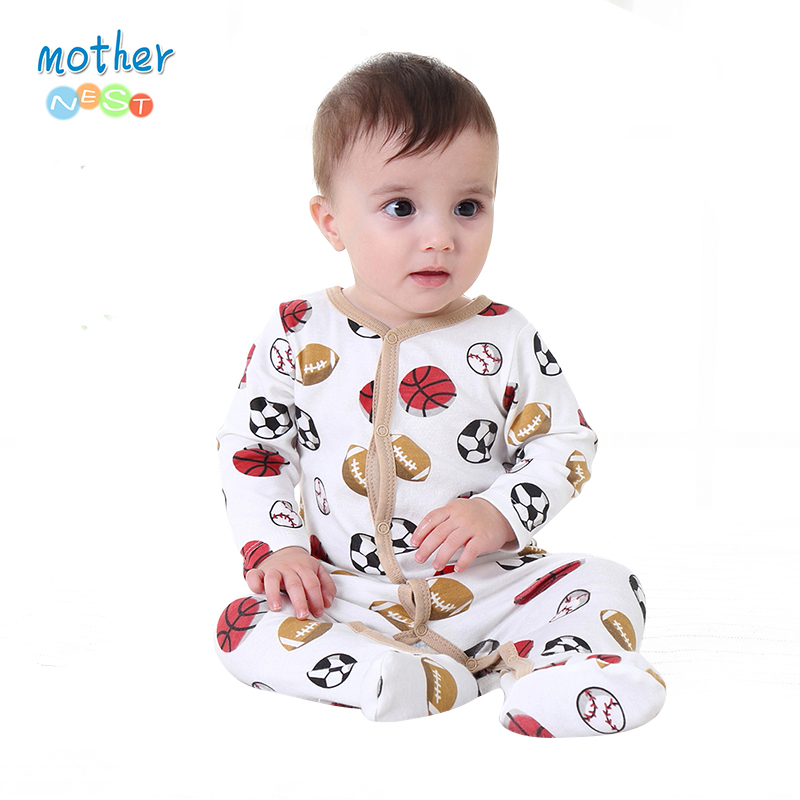 Mother Nest Fashion Baby Boy Clothes Long Sleeve Baby Rompers Newborn Cotton Baby Girl Clothing Jumpsuit Infant Clothing newborn baby rompers baby clothing 100% cotton infant jumpsuit ropa bebe long sleeve girl boys rompers costumes baby romper