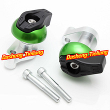 For yamaha YZF R6 2006 2007 Frame Sliders Crash Pads Protector Motorcycle Spare Parts Accessories Green