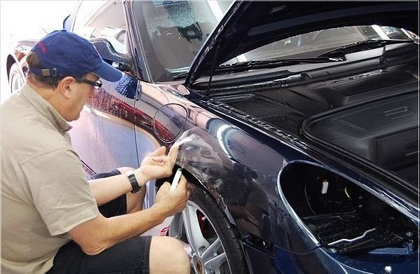 auto car interior exterior scratch paint protection film cover sticker 20cm x 30m free shipping