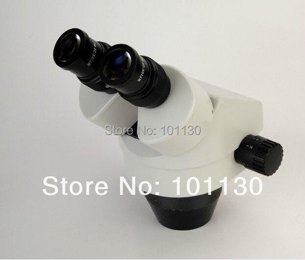 7X-45X SZM Series Professional Binocular Zoom Stereo Microscope Head  lucky zoom brand professional 7x 45x binocular stereo zoom microscope body head microscope eyepiece wf10x 20 free shipping