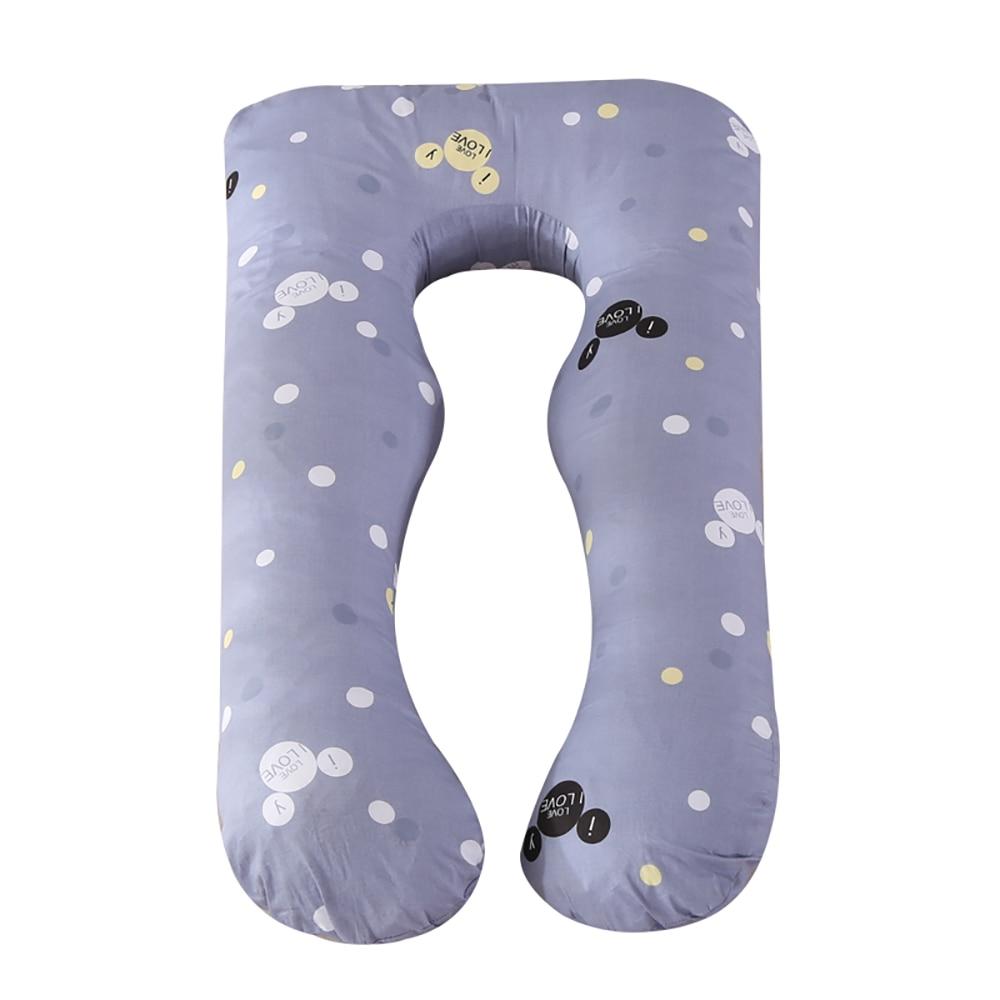 Pregnant Pillow Side Sleeper Pregnancy Women Bedding Full Body U-Shape Cushion Long Sleeping Multifunctional Maternity Pillow