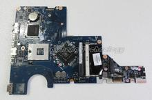 For hp CQ62 G62 616449-001 Laptop Motherboard DAAX3MB16A1 REV:A for intel cpu with integrated graphics card 100% tested fully