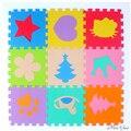 Venda quente 30*30 cm 10 pcs Set Enigma Tapete Esteira Do Jogo Do Bebê Chão Esteira do enigma de EVA Speelmat Espuma Esteira Do Jogo Do Bebê Tapete De Chão de Mosaico