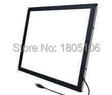 Free Shipping By Russian-Line 1pcs 65 Inch 10 points IR Touch Screen Frame without glass / fast shipping