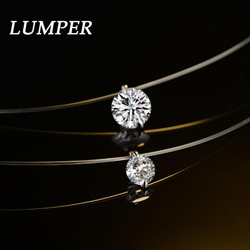 Ожерелье с прозрачной леской LUMPER, модное ожерелье и кулоны, Женское Ожерелье, Этнические украшения 1012