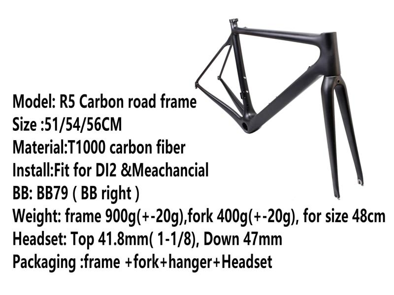 Pura Raza 2017 Carbon Road Carbon Fiber Bicycle Frame Bicycle Race Bike Bicycle Set Of Bicycle Racks Of Taiwan AERO ESTRADA Bicy