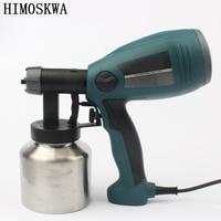 800ml 2 5mm 300w Detachable High Pressure Electric Spray Gun Spray Nozzle Adjustable Type Control Flow