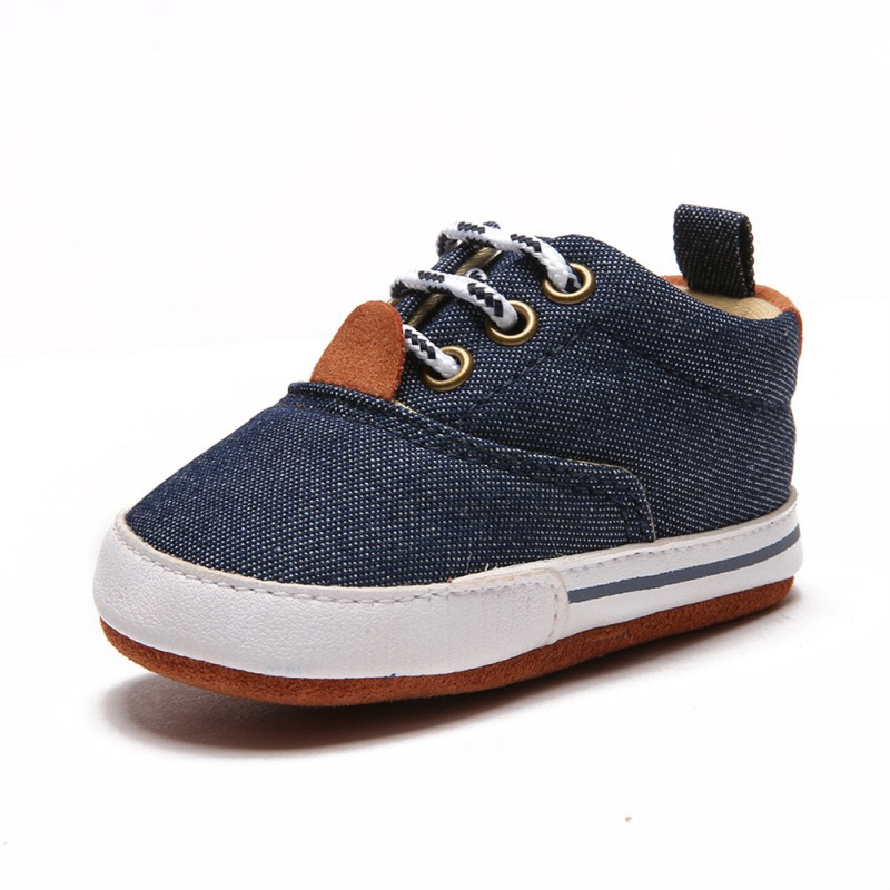 Fashion Baby Shoes Toddler Infants Boy Shoes bebek ayakkabi New born Baby Boys Shoes First Walkers Canvas Sneaker in First Walkers from Mother Kids