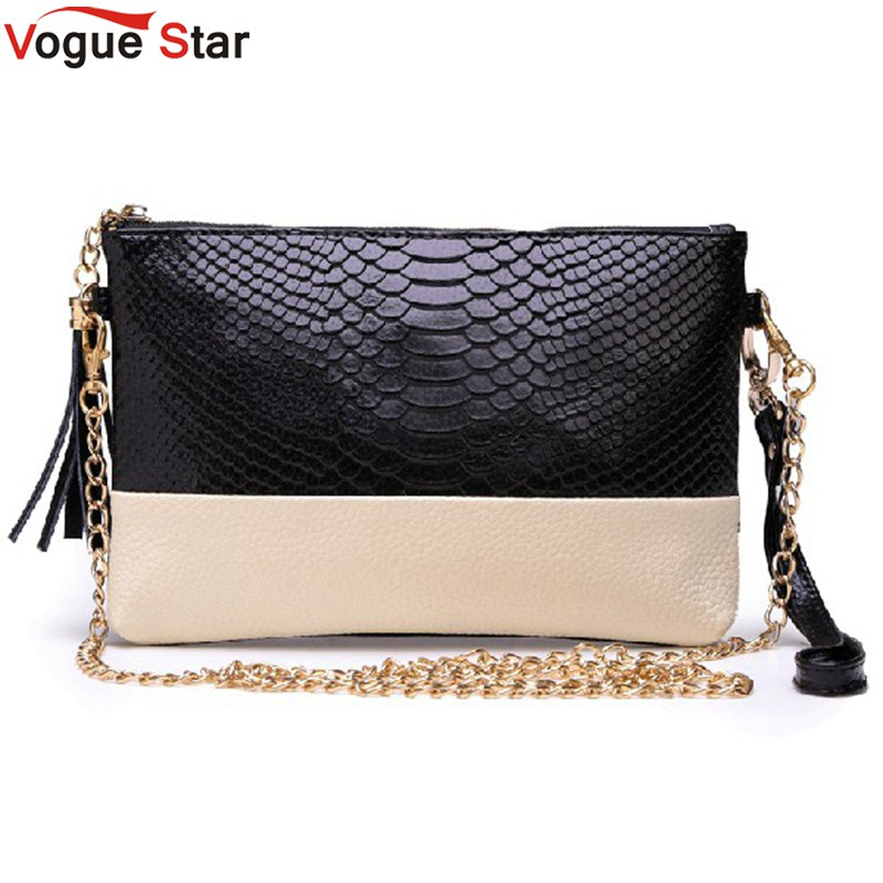 Vogue Star 2017 pu leather Tassel handbag shoulder bag messenger bag Day clutch Chain bag small bag women clutches  K80766