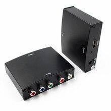 2018 nova YPBPR AO conversor de HDMI com áudio YPBPR + Áudio R/L para HDMI conversor para TV